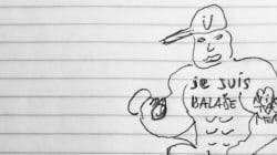 Booba répond à Luz par un dessin trash et