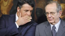 Renzi e Padoan congelano i soldi del