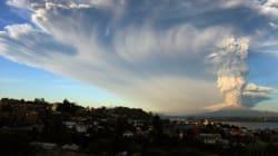 Les incroyables images de l'éruption volcanique au