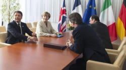 Piano in 10 punti al Consiglio Ue. Mini summit tra Renzi, Merkel, Hollande e Cameron