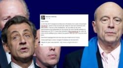Malgré Juppé, Sarkozy persiste et signe pour