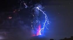 L'éruption du Calbuco en