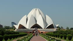 Delhi's Iconic Lotus Temple Turning Yellow Due To