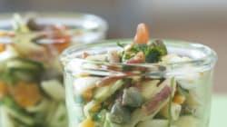 Vite fait, bien fait: Salade de pâtes aux