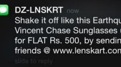 Lenskart's Apology To Its Earthquake SMS Campaign Isn't Currying Any