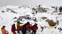 Avalanche sur l'Everest après le séisme : le récit des