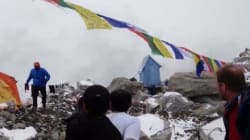 Video: Terrifying Footage Of Avalanche Hitting Everest Base