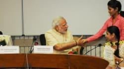 Modi Hands Over Artificial Limbs To
