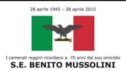 Messa per Mussolini sospesa, gli organizzatori: