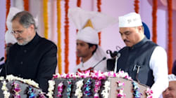 Congress Holds Protest Demanding Delhi Law Minister's Dismissal For Using Fake