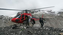 All Climbers At Camps High Up The Everest Air-Lifted To