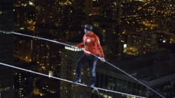 Tightrope Walker 'Daredevil' All Set To Walk On A Moving, 400-Foot-High Ferris