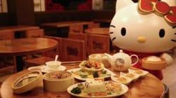 Manger des dim sum Hello Kitty, c'est désormais