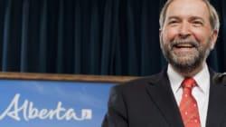 Mulcair Praises Alberta Counterpart's 'Superb