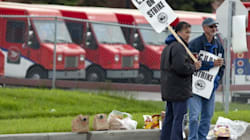 Postal Workers Rally For Public
