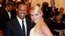 Tiger Woods et Lindsay Vonn se