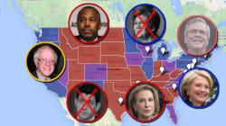 Rick Perry, Jeb Bush et les autres... la carte interactive des prétendants à la Maison