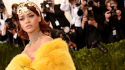 Is It An Omelette? Is It A Pizza? No, It's Rihanna Being