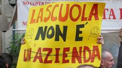 Sciopero contro la riforma Giannini e il preside-boss