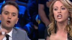 Scontro Taddei-Meloni a DiMartedì: