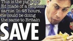 Les «unes» partisanes de la presse britannique à la veille des