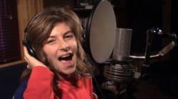Ce jeune partisan du CH fait le buzz en chantant pour le Canadien