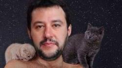 La pagina Facebook di Salvini invasa dai