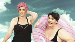 Antes y después de perder peso: una sesión de fotos inspiradora y