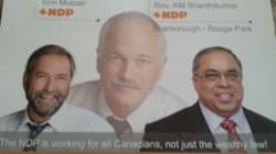Ghost-Like Jack Layton Appears In Candidate's