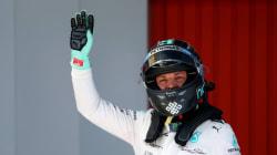 F1: Nico Rosberg remporte le GP