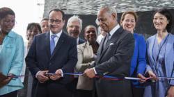En Guadeloupe, Hollande inaugure le plus grand mémorial sur l'esclavage au