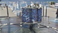 Le robot Philae a atterri sur les Champs-Elysées (ou