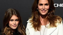 シンディ・クロフォードの娘って、母親に似ているね?(画像)
