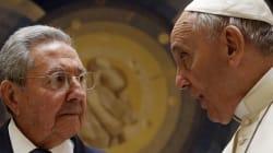 Castro remercie le pape de sa médiation avec les