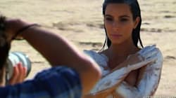 Kim K Gets Naked To Boost Her Confidence