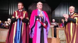 Le héros de la fusillade d'Ottawa reçoit un doctorat