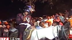 Dalit Groom Rides A Horse, Wears Helmet To His Wedding As Upper Caste Men Pelt