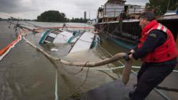 Capsized Boat Spills Diesel Into Fraser