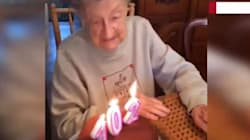 Freaking Adorable Grandma Loses Her Dentures In The Best