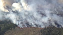 Northern B.C. Wildfire Doubles In