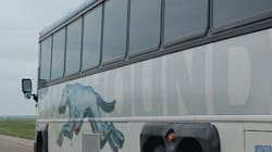 Greyhound Bus With 18 Crashes In