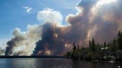 PHOTOS: Massive Northern B.C. Wildfire Is 'Aggressive,