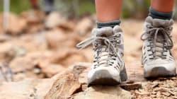 Ho camminato a piedi per 100 giorni per ritrovare il