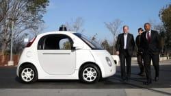 LOOK: Google's New Driverless Car Is A Pod-Like