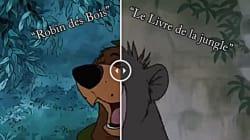 Disney a l'air d'avoir bien recyclé les scènes d'animation de ses