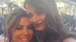 There's An Unofficial Selfie Ban On The Cannes Red Carpet, But Aishwarya Rai Clicks One With Eva Longoria