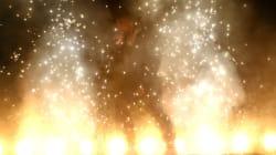Kanye West met (littéralement) le feu aux Billboard