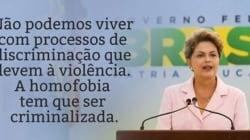 Dilma Rousseff volta a defender a criminalização da