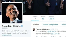 En une nuit, Obama prend plus de followers que Hollande en 6