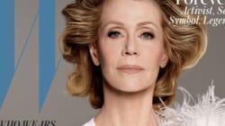 Jane Fonda en couverture du magazine W est tout simplement